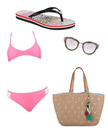 Pink Bathing Suit Outfit