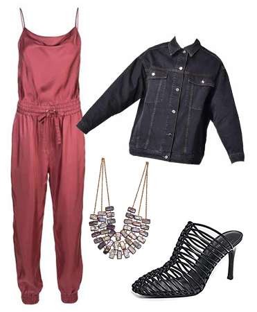 Red Jumpsuit Outfit Inspiration