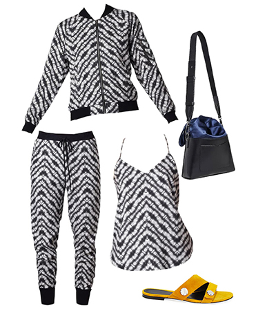 Zebra Print Outfit