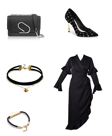Wrap Dress Outfit Inspiration