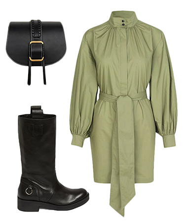 Biker Boot Outfit Inspiration